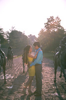 Thoroughbred Park Engagement Photos